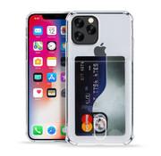 ShieldCase® Shock case met pashouder iPhone 12 Pro - 6.1 inch