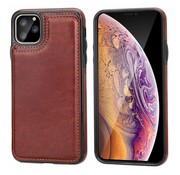 ShieldCase® Wallet case iPhone 12 Pro - 6.1 inch (bruin)