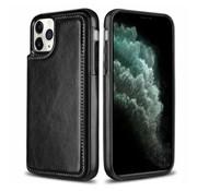 ShieldCase® iPhone 12 Pro wallet case - 6.1 inch (zwart)