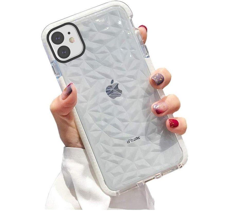 ShieldCase You're A Diamond iPhone 12 Mini - 5.4 inch hoesje (wit)