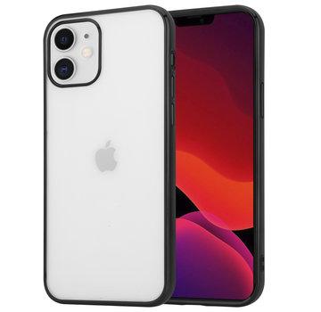 ShieldCase® Metallic bumper case iPhone 12 - 6.1 inch (zwart)