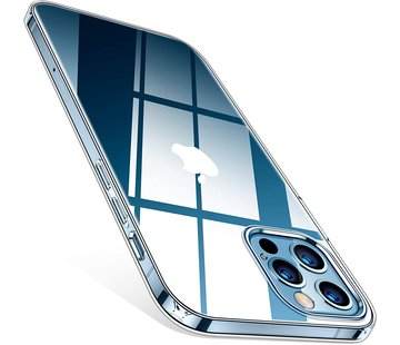 ShieldCase® Ultra thin silicone case iPhone 12 Pro Max 6.7 inch (transparant)