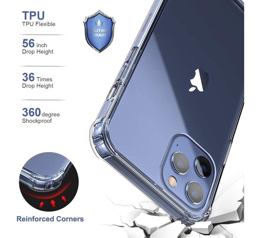 ShieldCase Shock case iPhone 12 Pro - 6.1 inch (transparant)