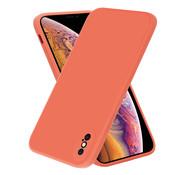 ShieldCase® iPhone X / Xs vierkante silicone case (oranje)