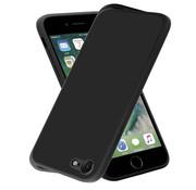 ShieldCase® iPhone 7 / 8 vierkante silicone case (zwart)