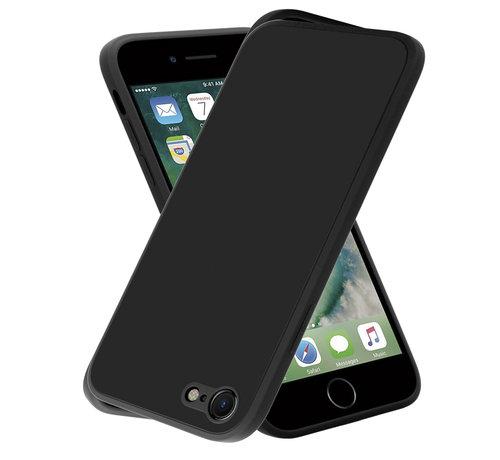 ShieldCase® ShieldCase iPhone 7 / 8 vierkante silicone case (zwart)