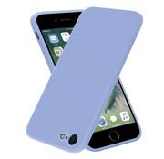 ShieldCase® iPhone 7 / 8 vierkante silicone case (lavendel)