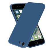 ShieldCase® iPhone 7 / 8 vierkante silicone case (blauw)