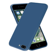 ShieldCase® iPhone 7 Plus / 8 Plus vierkante silicone case (blauw)