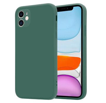 ShieldCase® iPhone 11 vierkante silicone case (donkergroen)