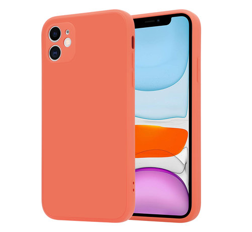 ShieldCase® ShieldCase iPhone 11 vierkante silicone case (oranje)