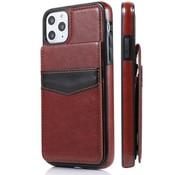 ShieldCase® Staand portemonnee hoesje iPhone 11 Pro Max (bruin)