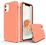 ShieldCase® Silicone case iPhone 11 (zalm)