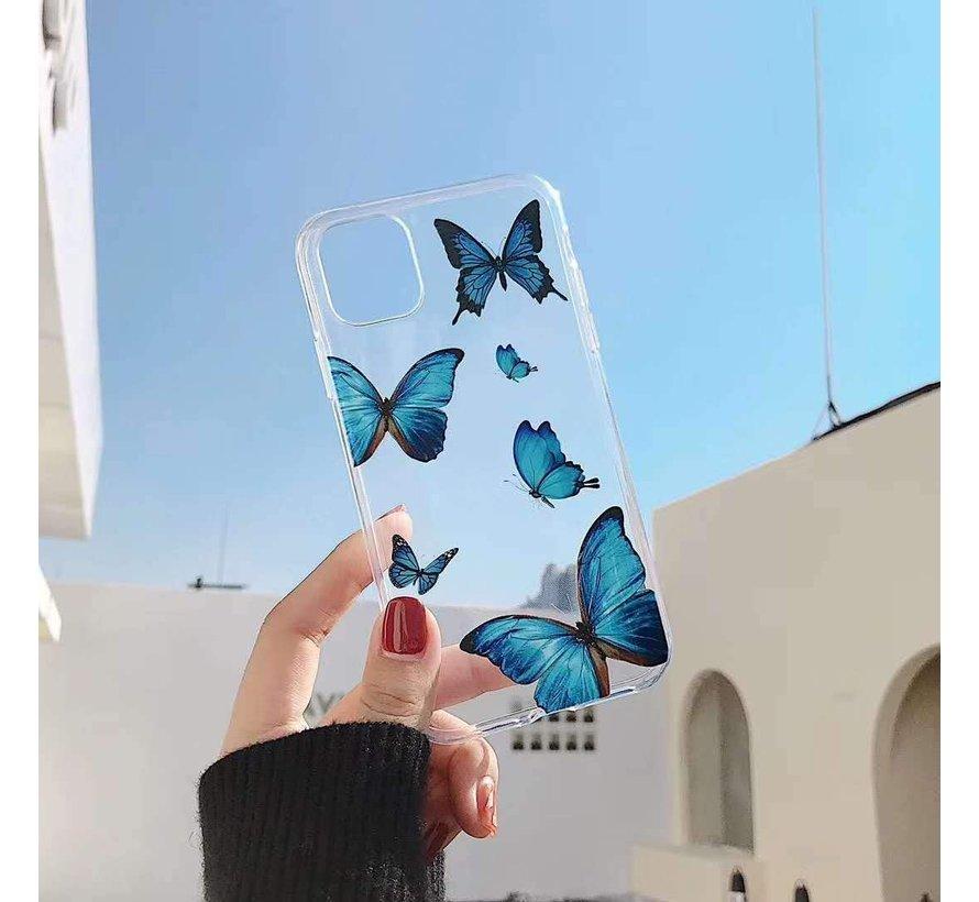 ShieldCase iPhone X / Xs hoesje met vlinders
