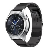 Samsung Gear S3 metalen band (zwart)