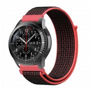 Samsung Gear S3 nylon band (zwart/rood)