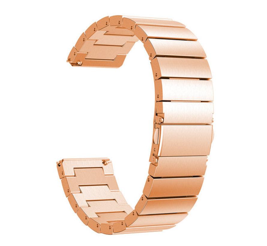 Fitbit Versa metalen bandje (rosé goud)