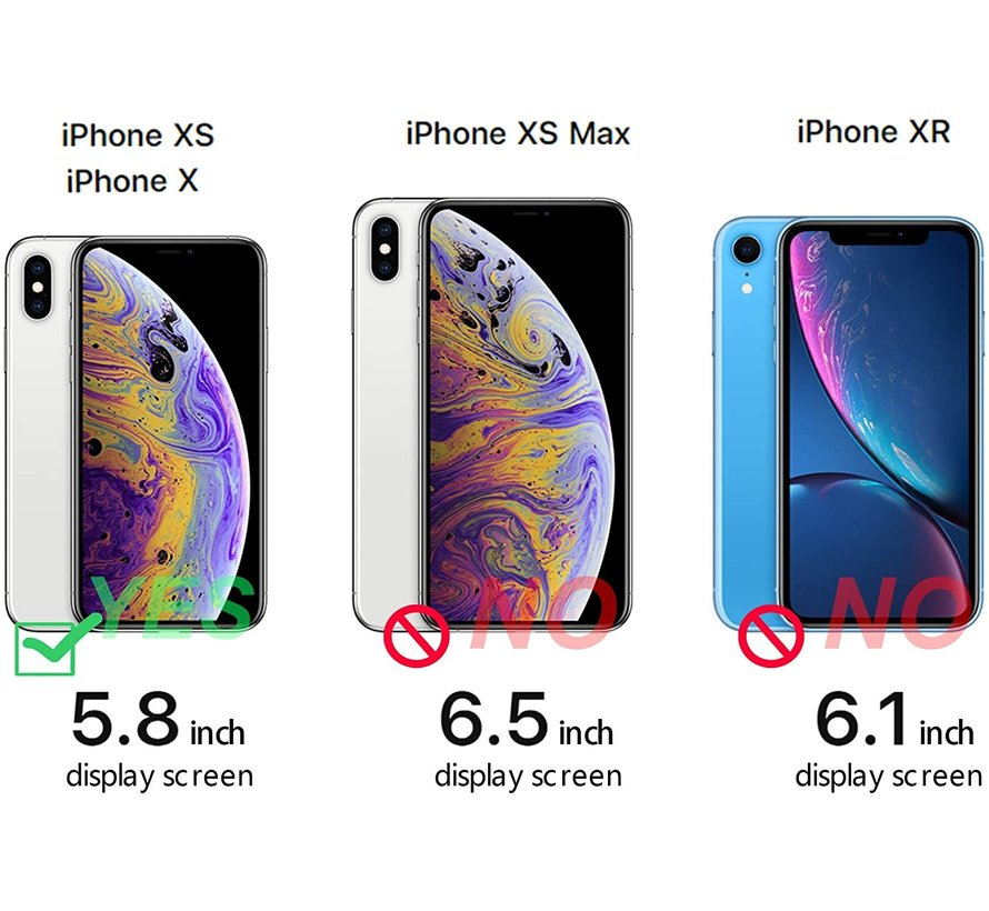 ShieldCase Sunny Moon iPhone X / Xs hoesje