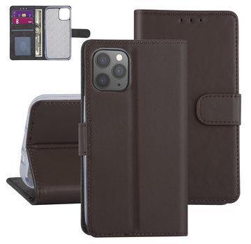 ShieldCase® Booktype case iPhone 12 - 6.1 inch (bruin)