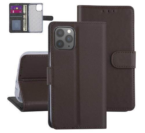 ShieldCase® ShieldCase Booktype case iPhone 12 - 6.1 inch (bruin)