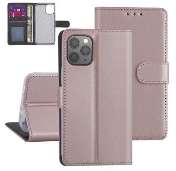 ShieldCase® Booktype case iPhone 12 - 6.1 inch (roze)