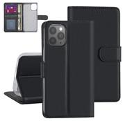 ShieldCase® Booktype case iPhone 12 Pro - 6.1 inch (zwart)