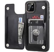 ShieldCase® Wallet case iPhone 12 Pro Max - 6.7 inch (zwart)