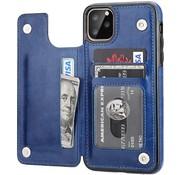 ShieldCase® Wallet case iPhone 12 Pro Max - 6.7 inch (blauw)