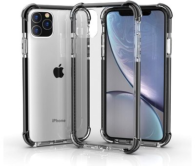 ShieldCase® ShieldCase bumper shock case iPhone 12 Pro Max 6.7 inch (zwart)