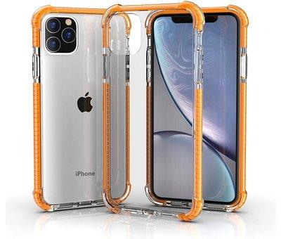 ShieldCase® ShieldCase bumper shock case iPhone 12 Pro Max 6.7 inch (oranje)