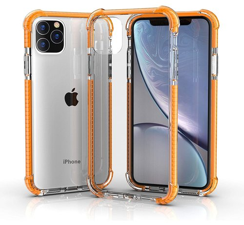 ShieldCase® ShieldCase bumper shock case iPhone 12 Pro Max 6.7 inch (oranje)