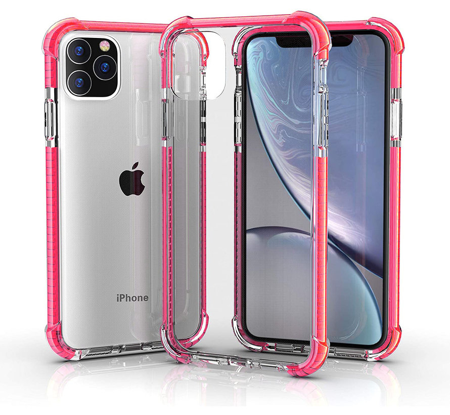 ShieldCase bumper shock case iPhone 12 Pro Max 6.7 inch (roze)