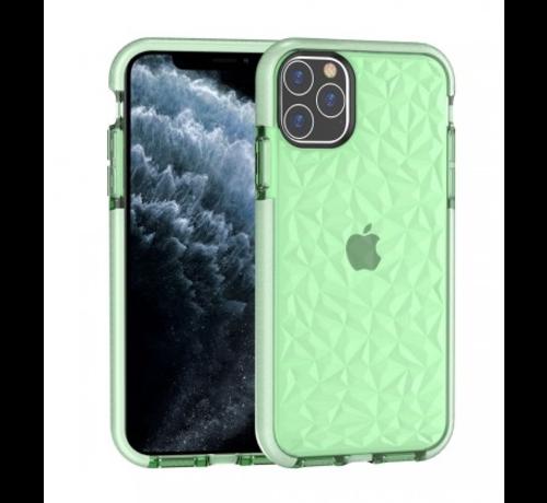 ShieldCase® ShieldCase diamanten case iPhone 12 Pro Max - 6.7 inch (groen