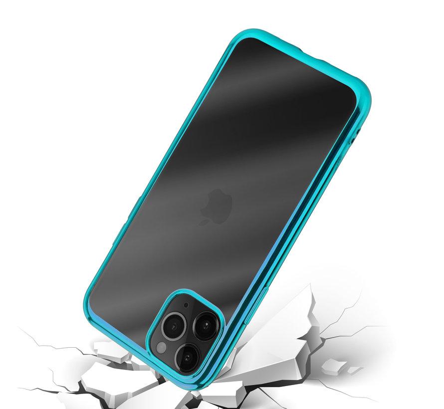 ShieldCase Metallic bumper case iPhone 12 Pro Max - 6.7 inch (groen)