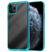 ShieldCase® Metallic bumper case iPhone 12 Pro Max - 6.7 inch (groen)