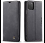 CaseMe Luxe bookcase iPhone 12 Pro Max (zwart)