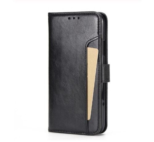 ShieldCase® ShieldCase iPhone 12 Pro Max uitneembare book case (zwart)