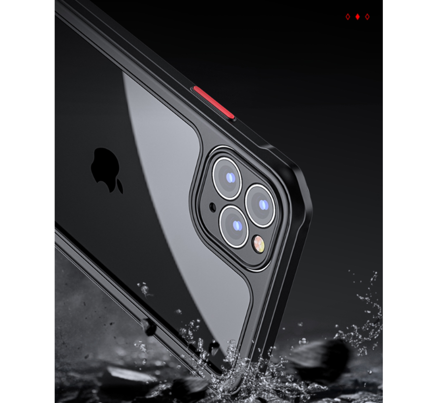 Shieldcase iPhone 12 Pro Max full protection case (zwart)