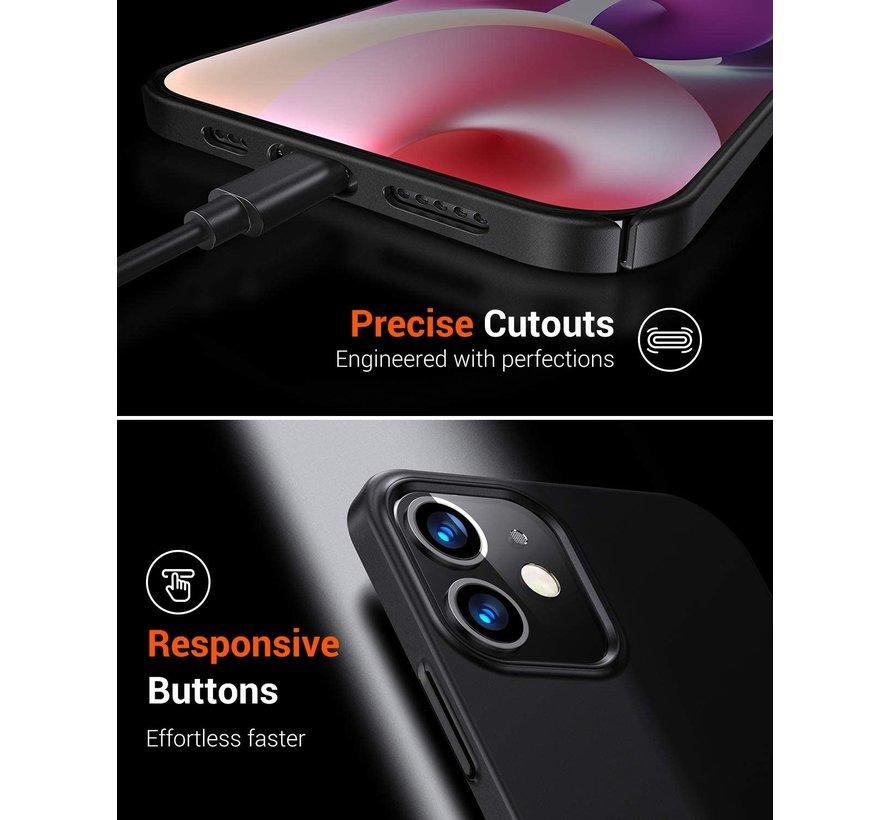 Shieldcase iPhone 12 ultra thin case - 6.1 inch (zwart)