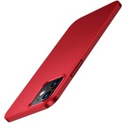 ShieldCase® Ultra thin case iPhone 12 - 6.1 inch (rood)