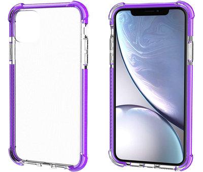 ShieldCase® ShieldCase bumper shock case iPhone 12 - 6.1 inch (paars)