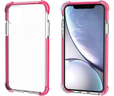 ShieldCase® ShieldCase bumper shock case iPhone 12 - 6.1 inch (roze)
