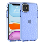ShieldCase® Diamanten case iPhone 12 - 6.1 inch (blauw)