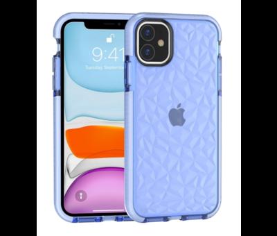 ShieldCase® ShieldCase You're A Diamond iPhone 12 - 6.1 inch hoesje (blauw)