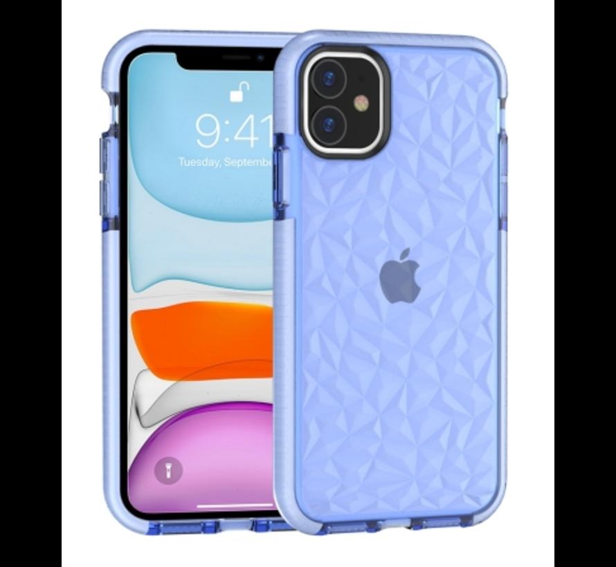 ShieldCase You're A Diamond iPhone 12 - 6.1 inch hoesje (blauw)