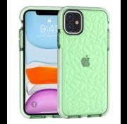 ShieldCase® Diamanten case iPhone 12 - 6.1 inch (groen)