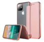 ShieldCase gegalvaniseerde flipcase iPhone 12 - 6.1 inch (roze)