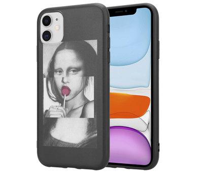 ShieldCase® ShieldCase Mona Lisa iPhone 12  - 6.1 inch hoesje