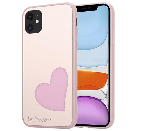 ShieldCase® ShieldCase Be Loved Mirror iPhone 12 - 6.1 inch hoesje