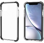 ShieldCase® Bumper shock case iPhone 12 Mini - 5.4 inch (zwart)